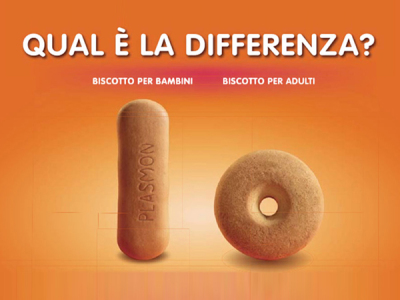 Plasmon vs. Barilla. Trova le differenze.